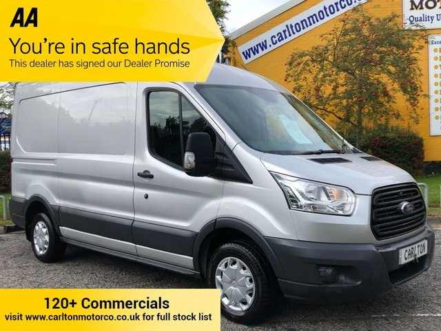 2015 15 FORD TRANSIT 310TDCi 125 L2 [ MOBILE WORKSHOP ] AIR CON H2 Van