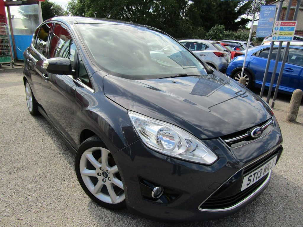 USED 2013 13 FORD C-MAX 1.0 TITANIUM 5d 124 BHP A  lovely example of this popular family car drives great well maintaned with a service history Affordable price range Our prices are competitive in our local market area . We have workshop facilities .Free loan car use . We offer a service plan for just £15;00 per month details online . Part Exchange welcome . . Flexible finance arrangements AA warranty included . Book a test drive today Thanks for looking .