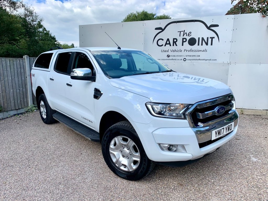 USED 2017 17 FORD RANGER 2.2 LIMITED 4X4 DCB TDCI 4d 148 BHP