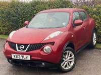 USED 2013 13 NISSAN JUKE 1.5 ACENTA DCI 5d * 2 OWNERS FROM NEW * 12 MONTHS FREE AA MEMBERSHIP *