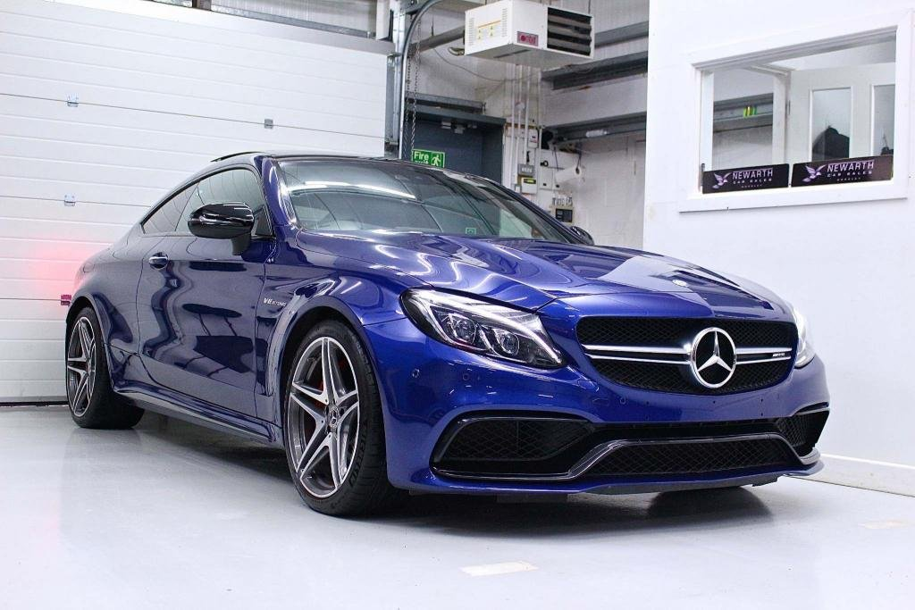 USED 2017 17 MERCEDES-BENZ C CLASS 4.0 C63 V8 BiTurbo AMG S (Premium) SpdS MCT (s/s) 2dr C63S AMG Night Pack Pan Roof