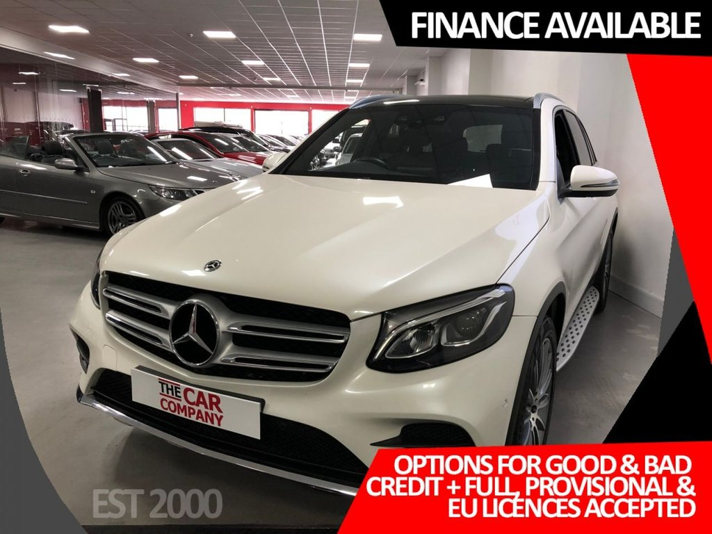 USED 2018 68 MERCEDES-BENZ GLC-CLASS 2.1 GLC 220 D 4MATIC AMG LINE PREMIUM 5d 168 BHP * 9800 MILES ONLY * HEATED MEMORY FRONT SEATS * SAT NAV * CRUISE CONTROL *