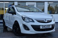 USED 2013 13 VAUXHALL CORSA 1.2 LIMITED EDITION 3d 83 BHP AVAILABLE FOR ONLY £140 PER MONTH WITH £0 DEPOSIT