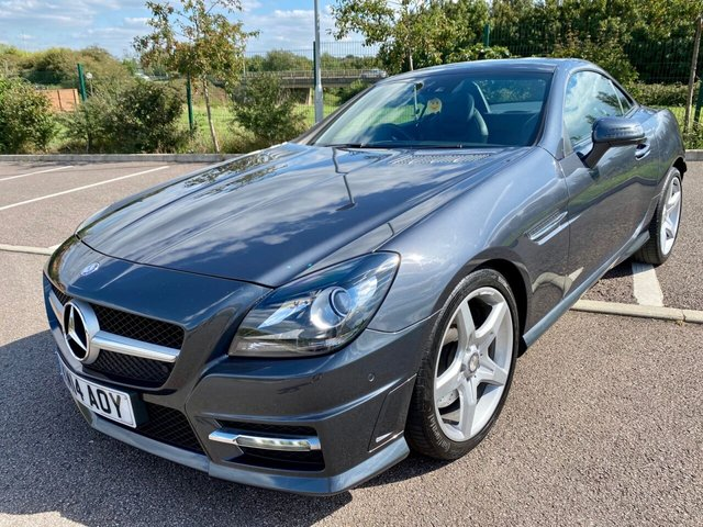 2014 14 MERCEDES-BENZ SLK 3.5 SLK350 BLUEEFFICIENCY AMG SPORT 2d 306 BHP