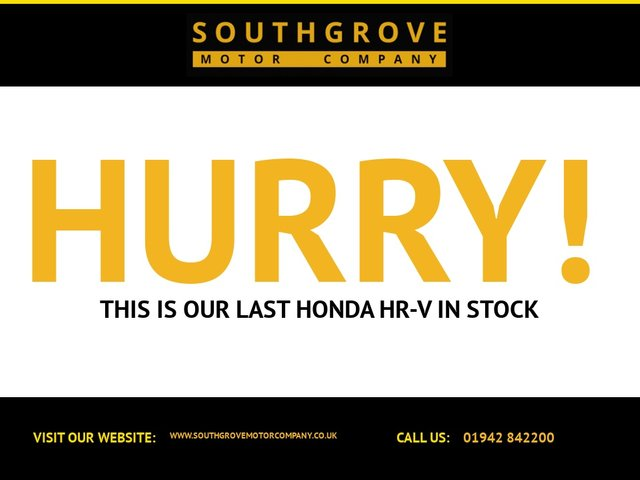 USED 2016 16 HONDA HR-V 1.5 I-VTEC S 5d 129 BHP