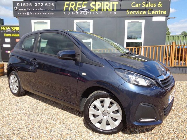 USED 2015 65 PEUGEOT 108 1.0 VTi Active 3dr DAB, Bluetooth, Low mileage