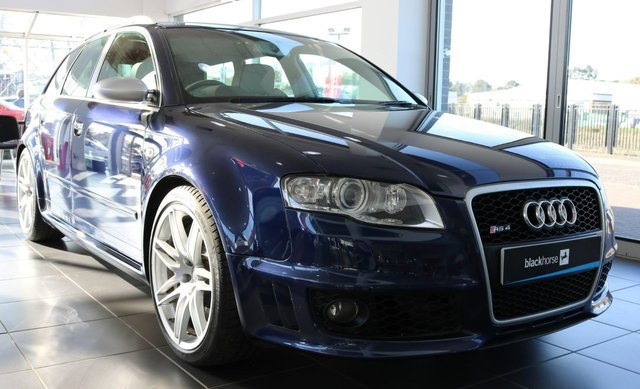 2007 07 AUDI A4 4.2 RS4 QUATTRO 5d 420 BHP
