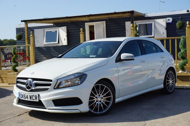 USED 2014 64 MERCEDES-BENZ A-CLASS 2.1 A220 CDI BLUEEFFICIENCY AMG SPORT 5d 170 BHP * JUST ARRIVED *CLEAN EXAMPLE*