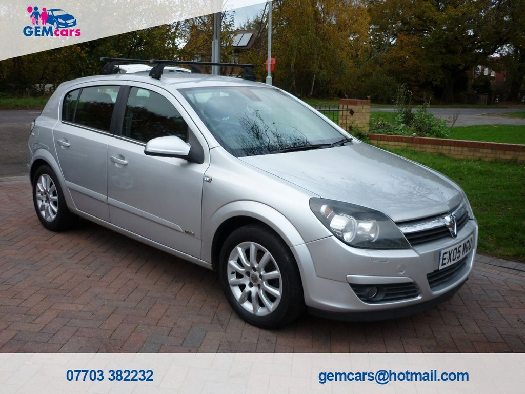 USED 2005 05 VAUXHALL ASTRA 1.8 DESIGN 16V 5d 124 BHP GO TO OUR WEBSITE TO WATCH A FULL WALKROUND VIDEO