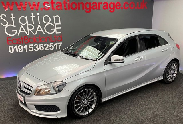 USED 2013 63 MERCEDES-BENZ A-CLASS 1.8 A180 CDI BLUEEFFICIENCY AMG SPORT 5d 109 BHP AUTOMATIC