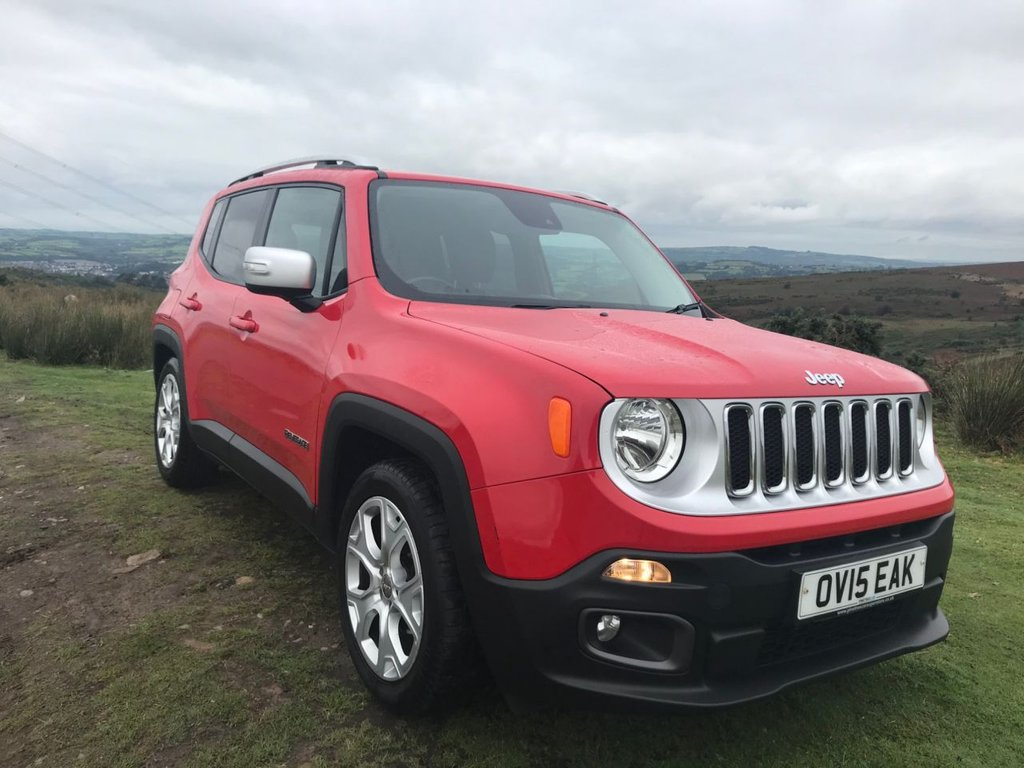 USED 2015 15 JEEP RENEGADE 1.6 M-JET LIMITED 5d 118 BHP