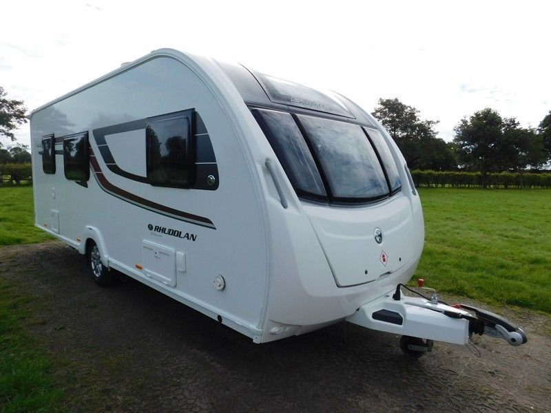 USED 2017 SWIFT SPRITE Rhuddlan Sr B Major 6 SR B T2E Caravan