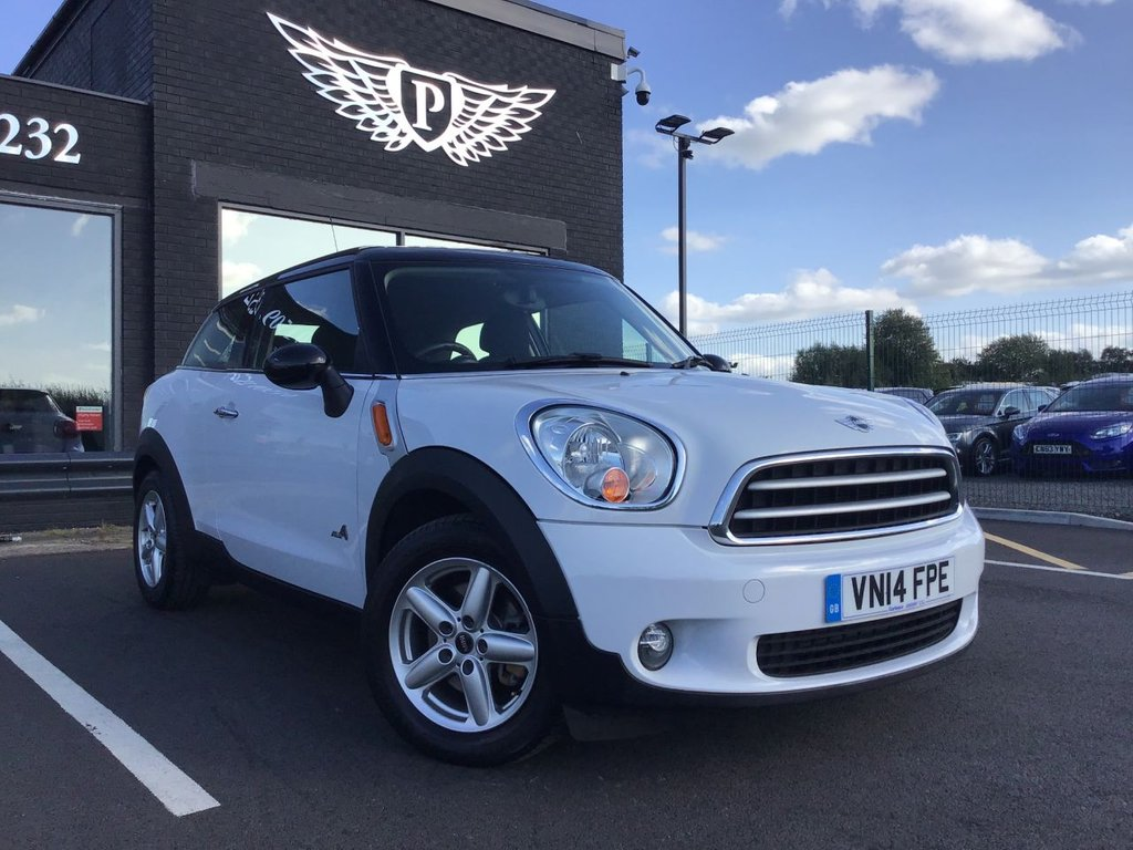 USED 2014 14 MINI PACEMAN 1.6 COOPER D ALL4 3d 112 BHP
