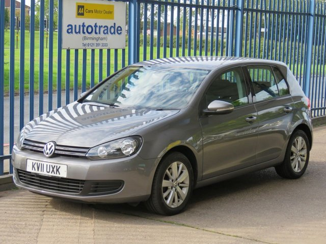 USED 2011 11 VOLKSWAGEN GOLF 1.6 MATCH TDI 5d 103 BHP  FRONT AND REAR SENSORS, DAB, BLUETOOTH,  HISTORY FRONT AND REAR PARKING SENSORS, DAB RADIO, TOUCHCREEN, SERVICE HISTORY, CRUISE CONTROL, BLUETOOTH.