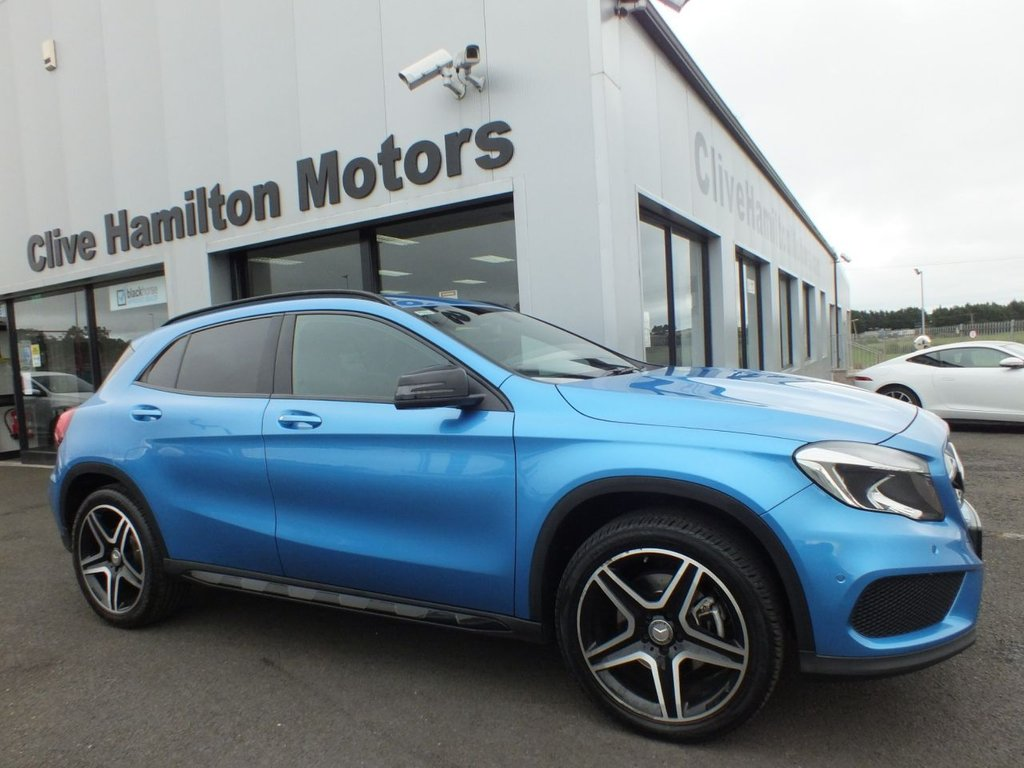 USED 2016 16 MERCEDES-BENZ GLA-CLASS 2.1 GLA 220 D 4MATIC AMG LINE EXECUTIVE 5d AUTO 174 BHP ESTATE