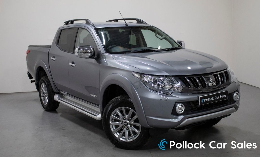 USED 2019 68 MITSUBISHI L200 WARRIOR MANUAL 178BHP - 3.5T NEVER TOWED 3.5 Tonne Towing, Never Towed Excellent Conditon