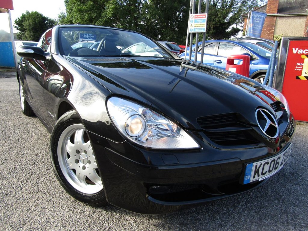 USED 2006 06 MERCEDES-BENZ SLK 1.8 SLK200 KOMPRESSOR 2d 161 BHP Wow what a find Stunning looking Lowest miles Full service history Excellent condition With Sat Nav Bluetooth Full leather Click & collect or arrange a Test drive