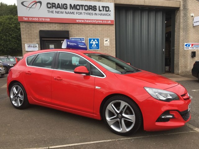 2014 63 VAUXHALL ASTRA 1.6L LIMITED EDITION 5d 115 BHP