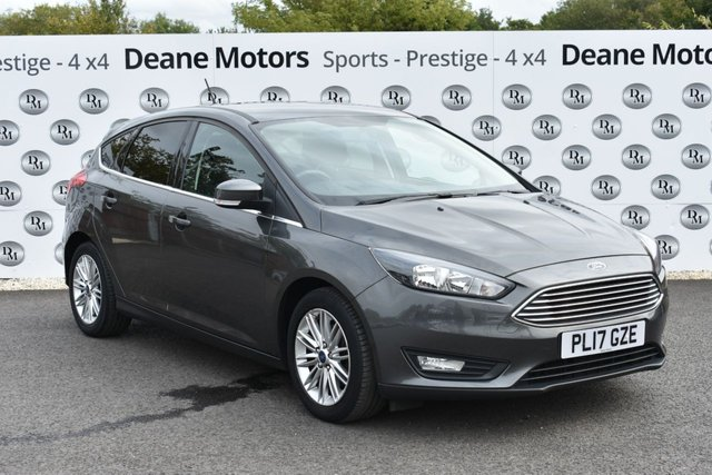 2017 17 FORD FOCUS 1.0 ZETEC EDITION 5d 100 BHP