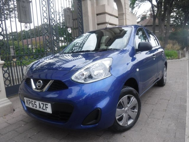 USED 2015 65 NISSAN MICRA 1.2 VISIA 5d 79 BHP BTOOTH*£30 TAX*ISOFIX*SERVICE HISTORY*14 INCH WHEELS