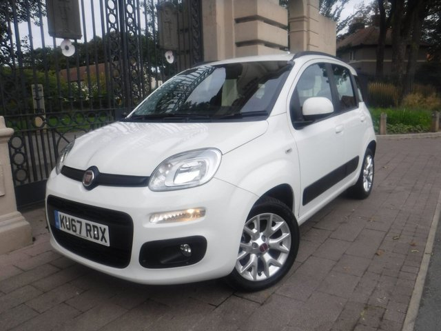 USED 2017 67 FIAT PANDA 1.2 LOUNGE 5d 69 BHP 1 OWNER*4000 MILES*BTOOTH*SERVICE HISTORY*CITY STEERING