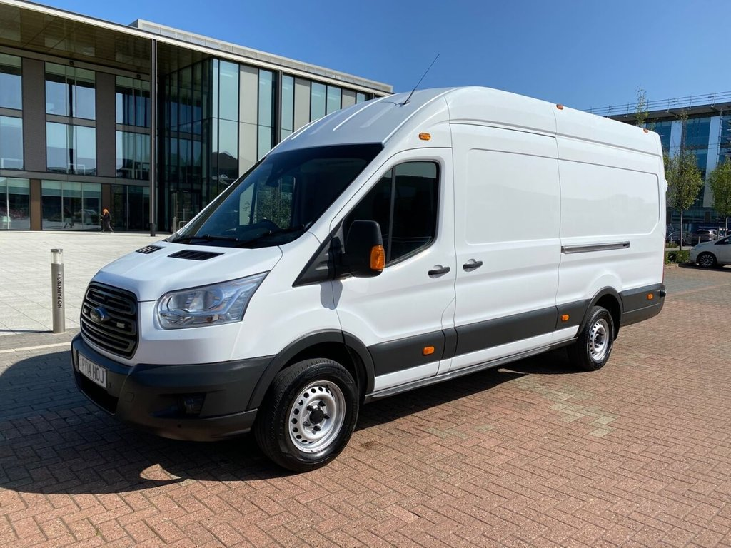 USED 2014 14 FORD TRANSIT 350 LWB 350 TREND 2.2TDCi 125ps L4H2 RWD *SENSORS*AIRCON*BLUETOOTH*E/P* EXCELLENT SPEC-GREAT VALUE