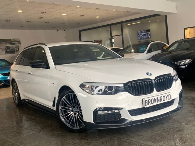 USED 2017 17 BMW 5 SERIES 2.0 520D M SPORT TOURING 5d 188 BHP BM PERFORMANCE STYLING+6.9%APR