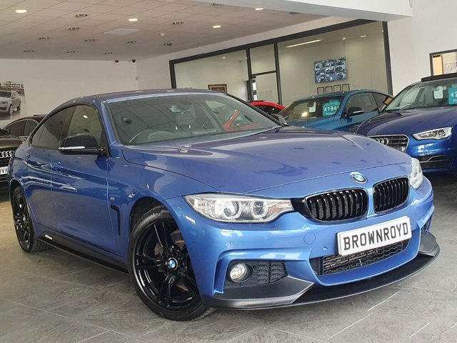 USED 2015 15 BMW 4 SERIES GRAN COUPE 3.0 430D XDRIVE M SPORT GRAN COUPE 4d 255 BHP BM PERFORMANCE STYLING+6.9%APR