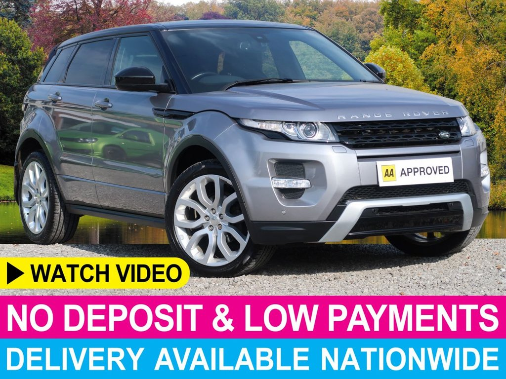 """USED 2014 14 LAND ROVER RANGE ROVER EVOQUE 2.2 SD4 Dynamic Auto 4WD 5dr Glass Pan Roof 20"""" Alloys NAV"""