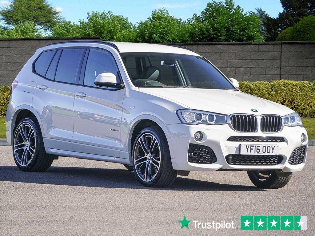 USED 2016 16 BMW X3 2.0 XDRIVE20D M SPORT 5d 188 BHP