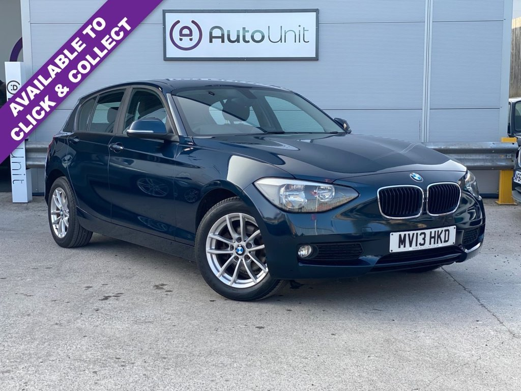 USED 2013 13 BMW 1 SERIES 1.6 116I SE 5d 135 BHP AUTOMATIC FULL SERVICE HISTORY | OPTICAL SENSORS | AUTO LIGHTS & WIPERS | HEATED SEATS | DAB RADIO