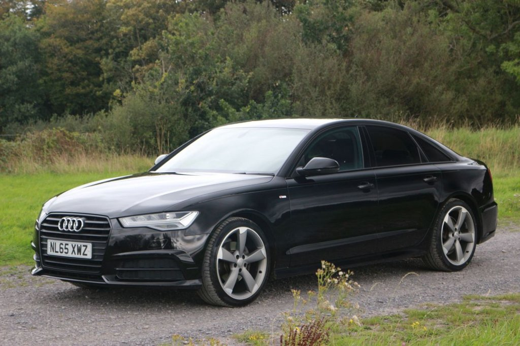 USED 2015 65 AUDI A6 2.0 TDI ULTRA BLACK EDITION 4d 188 BHP