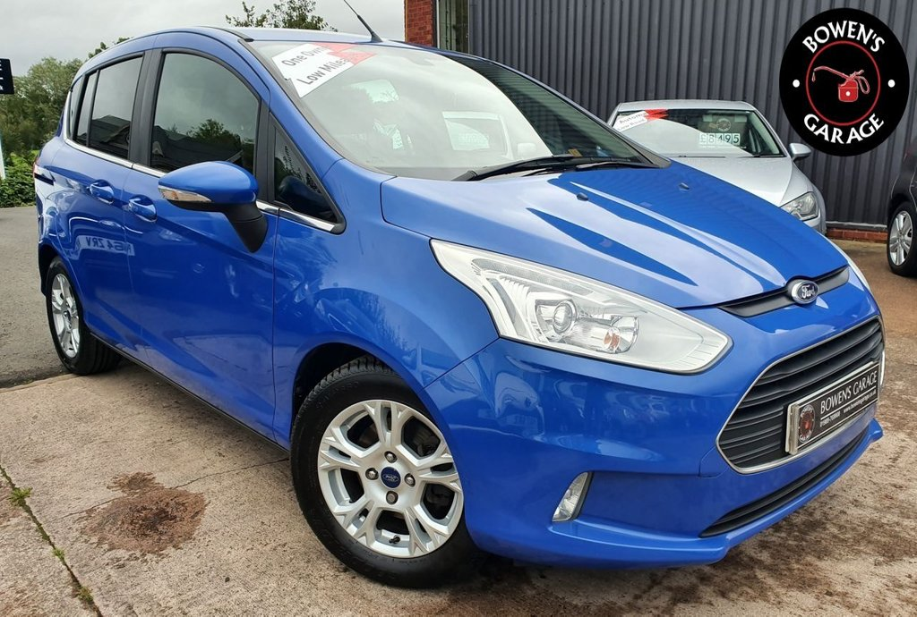 USED 2014 63 FORD B-MAX 1.4 ZETEC 5D 89 BHP 1 Lady Owner - Low Miles - 6 Services