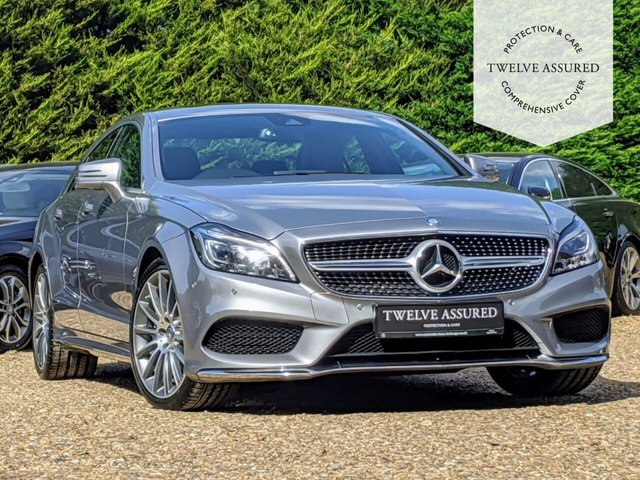 USED 2015 15 MERCEDES-BENZ CLS CLASS 3.0 CLS350 BLUETEC AMG LINE PREMIUM 4d AUTO 255 BHP (SUNROOF)