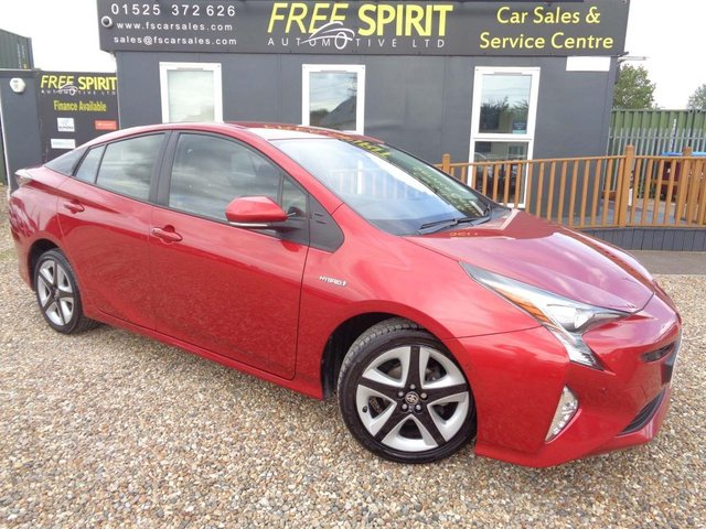 USED 2017 67 TOYOTA PRIUS 1.8 VVT-h Excel CVT (s/s) 5dr 1 Owner,Leather,Nav,Phone,DAB
