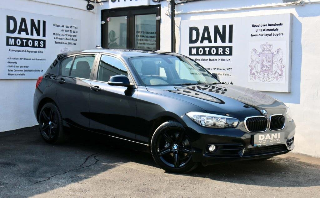 USED 2016 16 BMW 1 SERIES 2.0 118d Sport Auto (s/s) 5dr 1 OWNER*SATNAV*BLUETOOTH