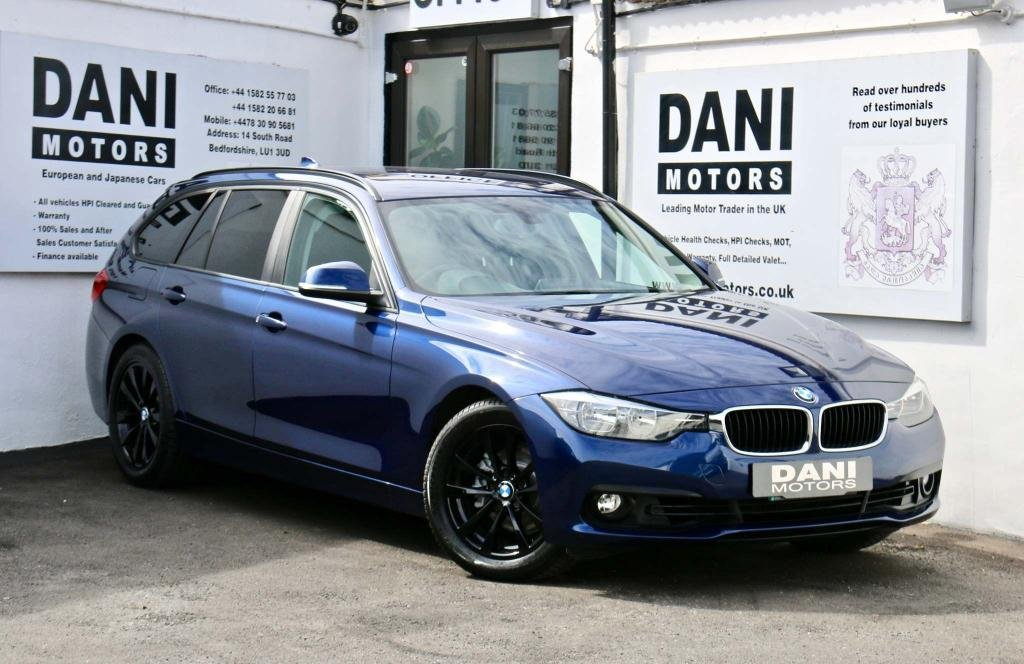 USED 2017 17 BMW 3 SERIES 2.0 320i SE Touring Auto (s/s) 5dr 1 OWNER*SATNAV*PARKING AID