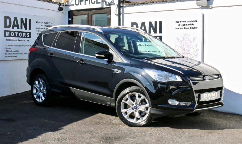 USED 2016 16 FORD KUGA 2.0 TDCi Titanium Powershift AWD 5dr 1 OWNER*PARKING AID*BLUETOOTH
