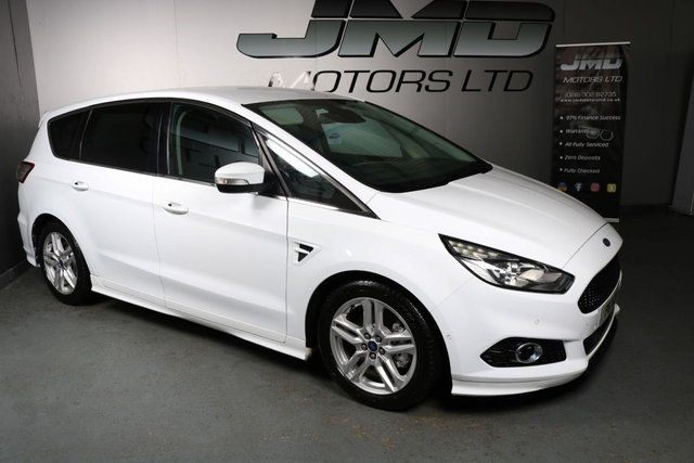 USED 2016 FORD S-MAX 2016 FORD S-MAX 2.0 TITANIUM SPORT TDCI 180 BHP ( FINANCE & WARRANTY)