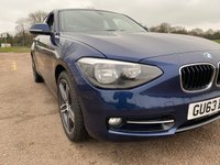 USED 2013 63 BMW 1 SERIES 1.6 116I SPORT 5d 135 BHP
