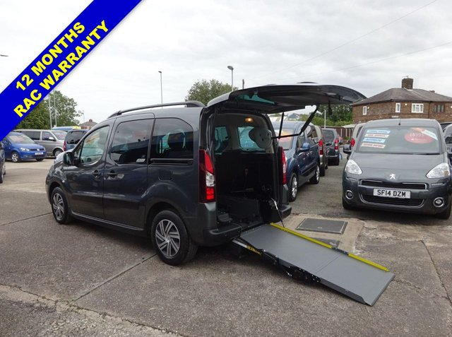 USED 2014 64 CITROEN BERLINGO MULTISPACE 1.6 E-HDI AIRDREAM XTR EGS 5d 91 BHP Wheelchair Access WAV Wheelchair Access + 3 Seats and Remote tailgate and ramp