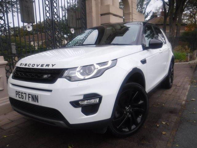 USED 2017 67 LAND ROVER DISCOVERY SPORT 2.0 TD4 HSE BLACK 5d 180 BHP LEATHER*PAN ROOF*7 SEATS*NAV*1 OWNER*F+R PS*CAMERA*4WD