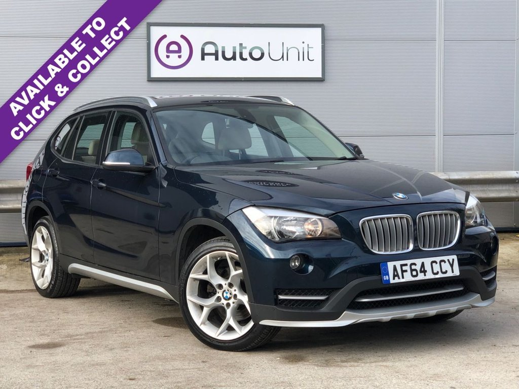 USED 2014 64 BMW X1 2.0 XDRIVE18D XLINE 141 BHP ~ FULL BMW SERVICE HISTORY FULL SERVICE HISTORY + LEATHER + REAR SENSORS + FSH