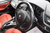 USED 2015 15 BMW X1 2.0 SDRIVE18D M SPORT 5d 141 BHP 5 SERVICES, RED DAKOTA LEATHER, DAB, BLUETOOTH, SUPER LOW MILES...