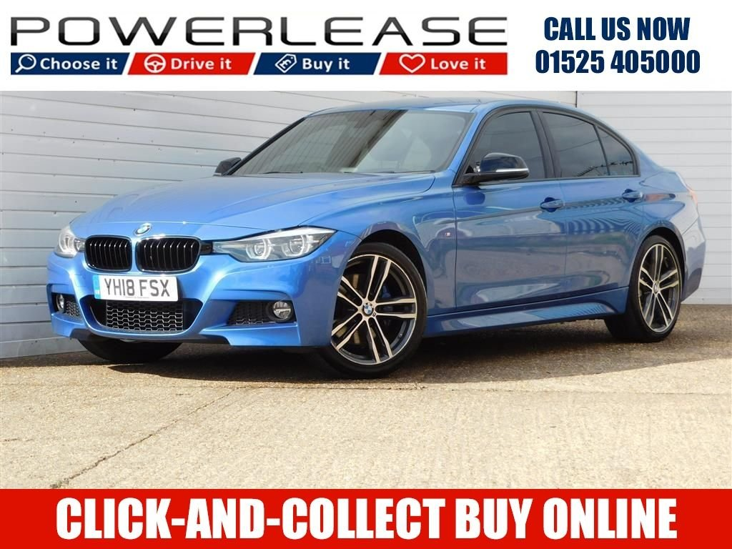 USED 2018 18 BMW 3 SERIES 2.0 320I M SPORT SHADOW EDITION 4d 181 BHP FULL HEATED LEATHER REARCAMERA