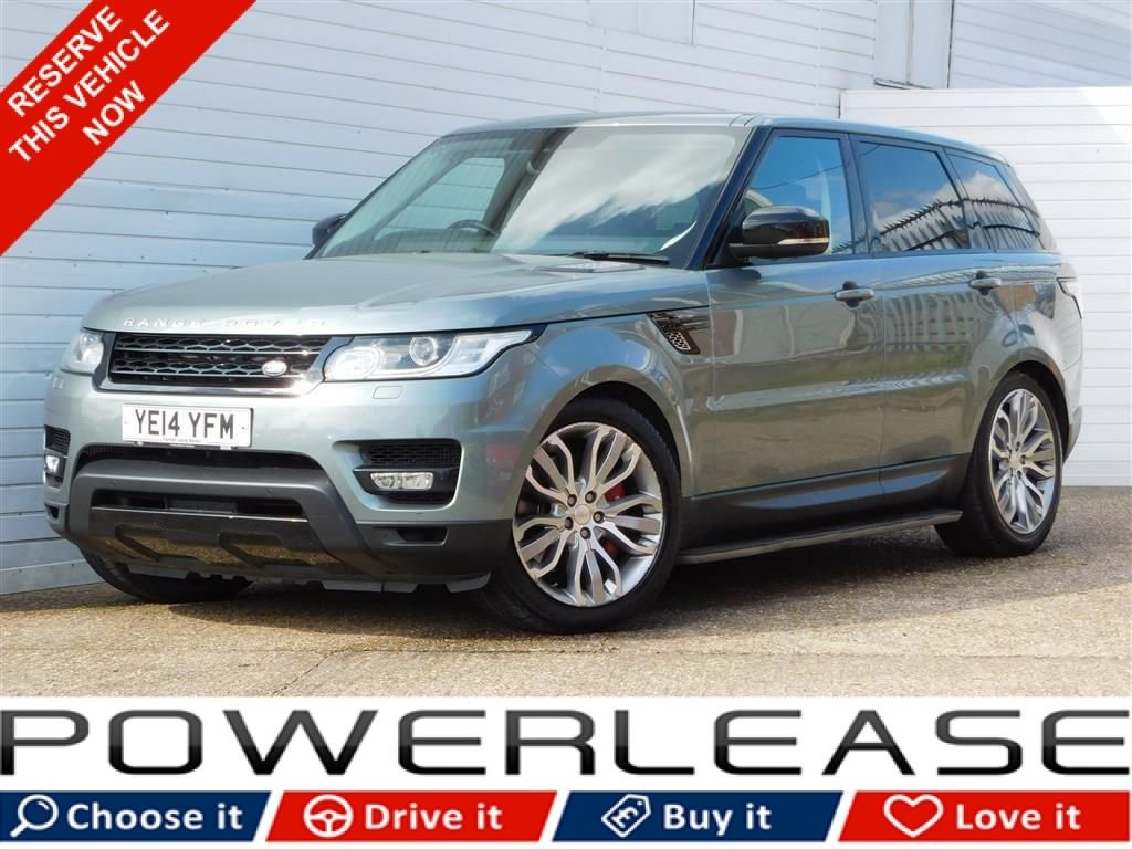 USED 2014 14 LAND ROVER RANGE ROVER SPORT 3.0 SDV6 HSE DYNAMIC 5d 288 BHP PAN ROOF 7 SEATS REAR SCREENS