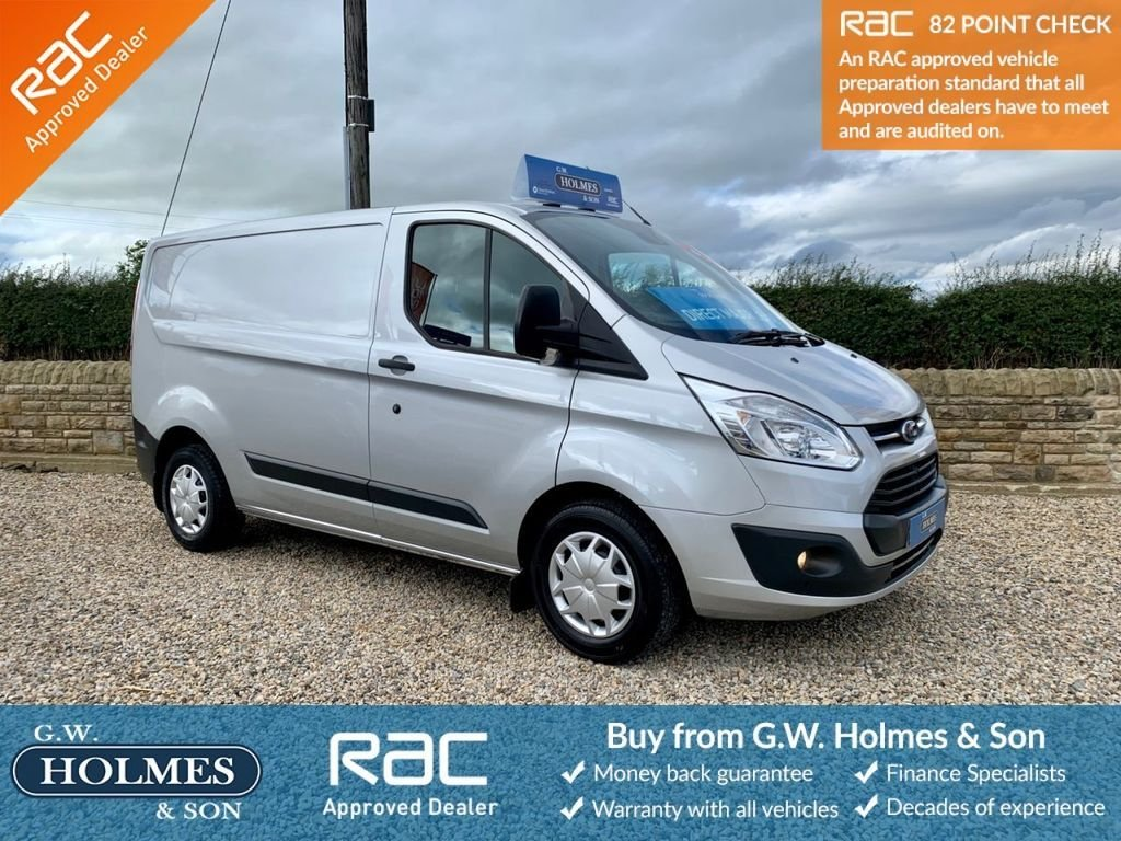 USED 2016 66 FORD TRANSIT CUSTOM 2.0 TDCI 290 105 BHP EURO 6 L1 H1 WITH A/C **DIRECT N-POWER**