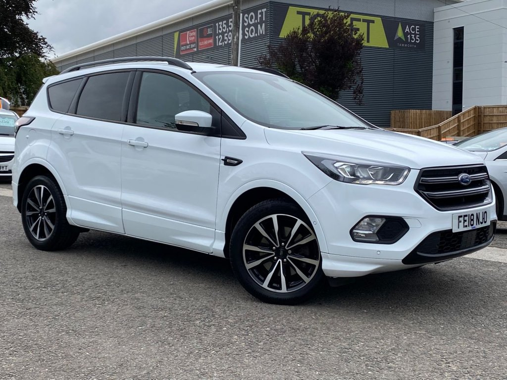 USED 2018 18 FORD KUGA 2.0 ST-LINE TDCI 5d 148 BHP 1 Private Owner Kuga with a full Ford service history. An immaculate example