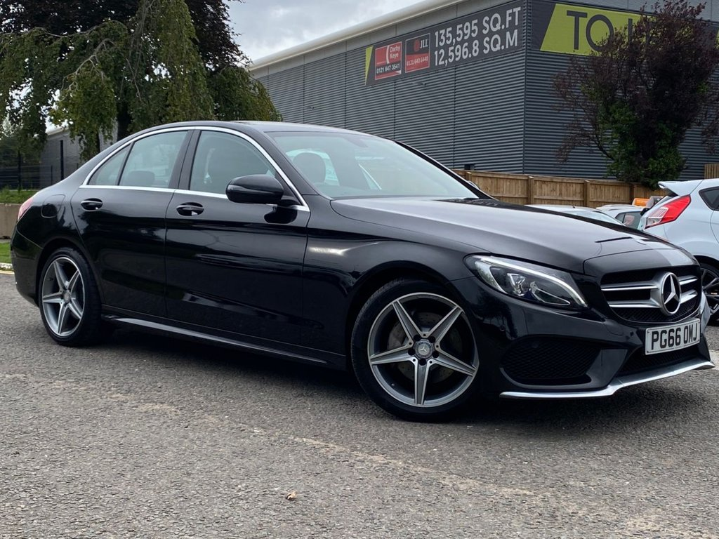 USED 2017 66 MERCEDES-BENZ C-CLASS 2.1 C220 D AMG LINE 4d 170 BHP Stunning Mercedes-Benz with a huge specification in immaculate condition and Mercedes history