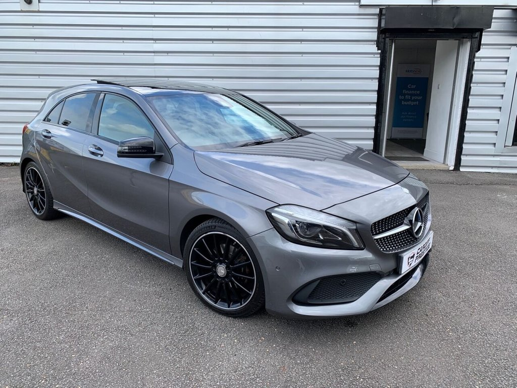 USED 2016 66 MERCEDES-BENZ A-CLASS 1.5 A 180 D AMG LINE PREMIUM PLUS 5d 107 BHP £4520 in optional extras!!
